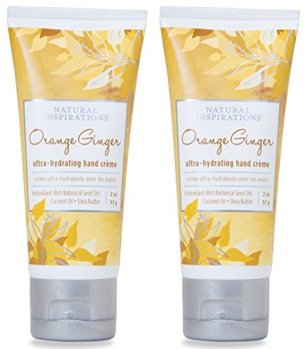 Natural Inspirations Ultra Hydrating Hand Creme 2 Piece Gift Set – Orange Ginger