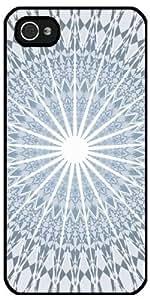 Case forIphone 4/4S - Blue Geometric Mandala by ruishername