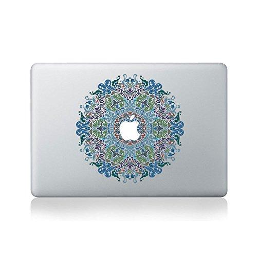 Floral Victorian Mandala Vinyl Sticker for Macbook  or Lapto
