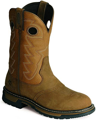Rocky Men's Original Ride Saffron Work Boot,Saffron,10.5 M US