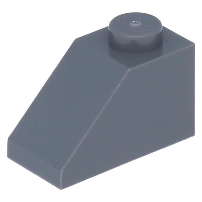 Lego Bausteine Bauzubehör Neu 50x Lego Schrägstein 45 2 X 1 Hellgrau