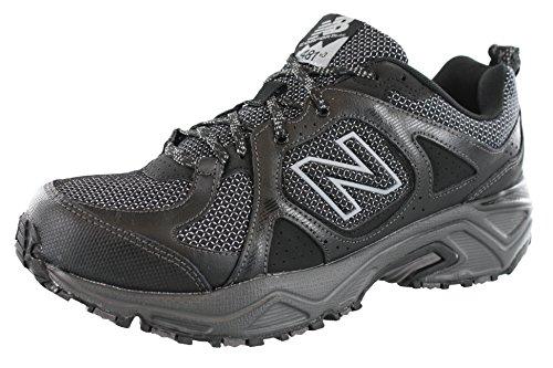 New Balance Mens 481V3 Cushioning Trail Running Shoe  Black  14 4E Us