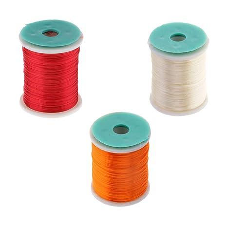 High Strength 250m Fly Tying Threads Fly /& Jig Tying Threads 250m Orange