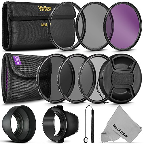 58 mm lense filter kit - 4