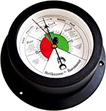 Trintec Nautical Marine Vector Collection Fishing Barometer (White Dial) VEC-04W-FB Indicator