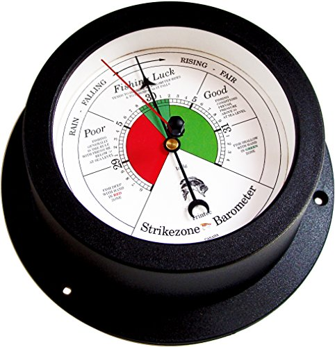 Trintec Nautical Marine Vector Collection Fishing Barometer (White Dial) VEC-04W-FB Indicator