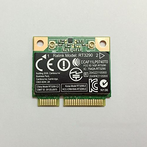 RT3290 Half Mini PCIe PCI-Express Wlan Wireless WIFI Bluetooth BT Card USE for HP Compaq Laptop SPS 690020-001 by PJCARD