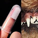 Ec Pet Toothbrush Super Soft Pet Finger Toothbrush Teddy Dog Brush Bad Breath Tartar Teeth Tool