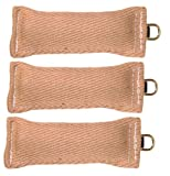 Bundle Of 3 Jute Tugs with O-Ring 3″ x 8″ RedLine K9 Review
