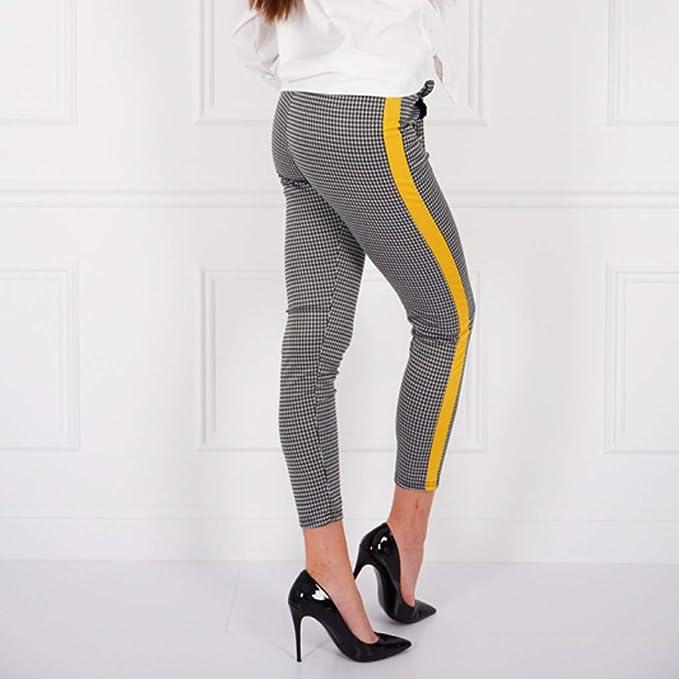 Pantalón Largos de chándal para Mujer Casual Cintura Alta ...
