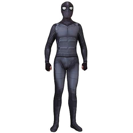 QQWE Traje de Disfraces de Spiderman Marvel Película Traje ...