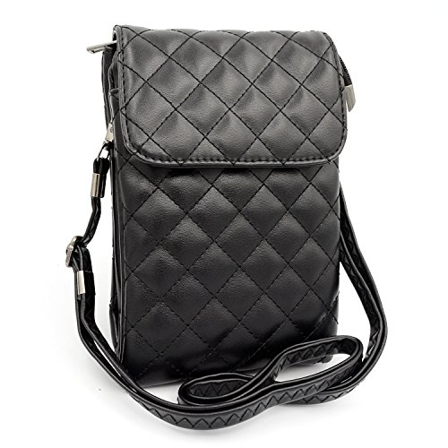 Dlames Womens Leather Shoulder Crossbody product image