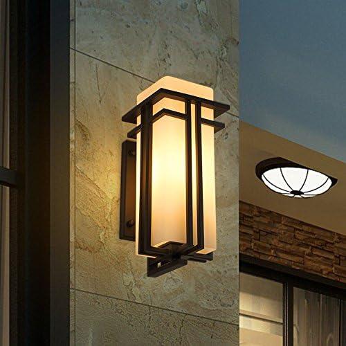 LED Moderna Lámpara de Pared Lámpara de pared para exterior Lámpara exterior impermeable para jardín Jardín japonés Lámpara de pared para balcón exterior balcón creativoLED Lámpara de pared。: Amazon.es: Iluminación