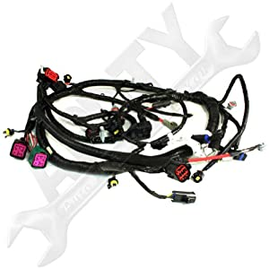 51M%2BF8RceHL._SY300_ amazon com oe ford 5c3z12b637ba 6 0l diesel engine wire wiring wiring harness ford at bayanpartner.co
