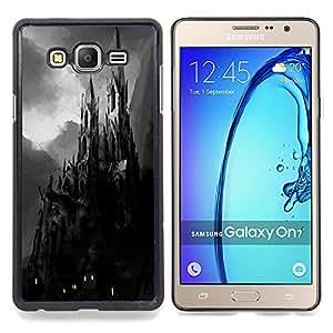Stuss Case / Funda Carcasa protectora - Drácula de Transilvania Pintura Negro - Samsung Galaxy On7 O7