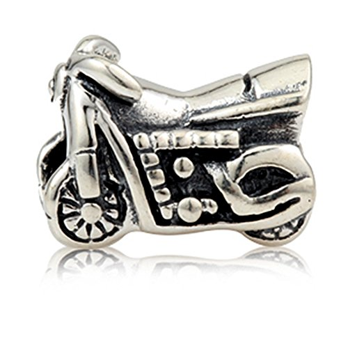 Motorcycle Beads Charm 925 Sterling Silv - 925 Sterling Silver Motorcycle Shopping Results