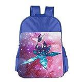 JXMD Custom Poke Greninja Children School Bag For 4-15 Years Old RoyalBlue