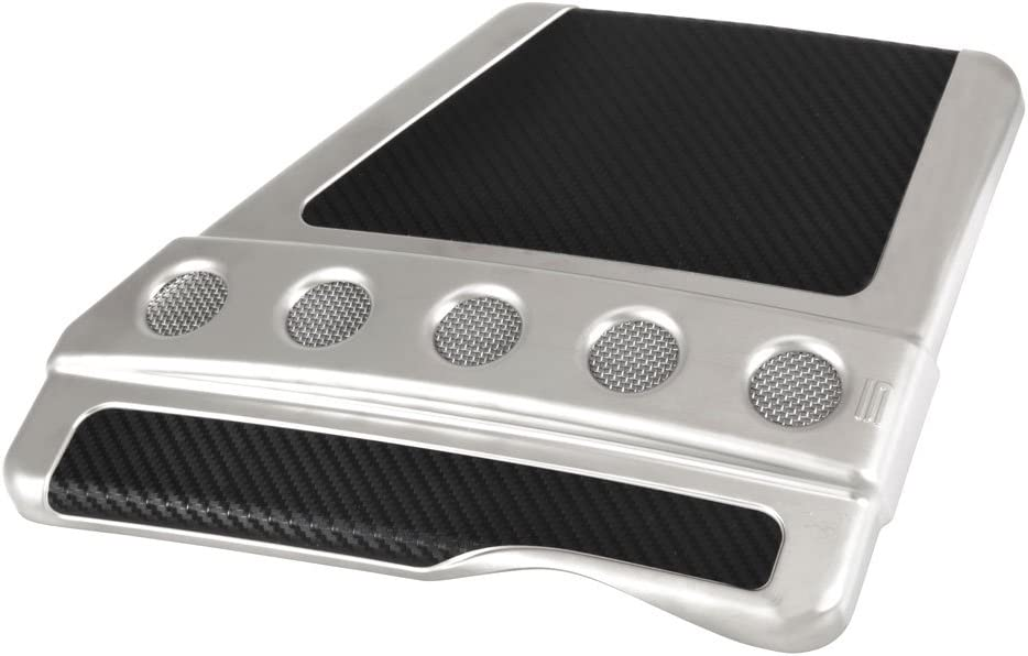 Spectre Performance 42721 Air Box Cover Circular Design; GM Chrome