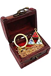 GIANCOMICS Handmade The Legend of Zelda Rupee Necklace keychain Anime Cosplay Triforce Pendant Z010