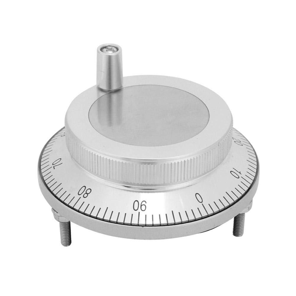 CNC-Impulshandrad zur Nullpunkteinstellung und Signalsegmentierung von CNC-Werkzeugmaschinen 5V 80mm 6Pin 100PPR Impulsgeber Graviermaschinen