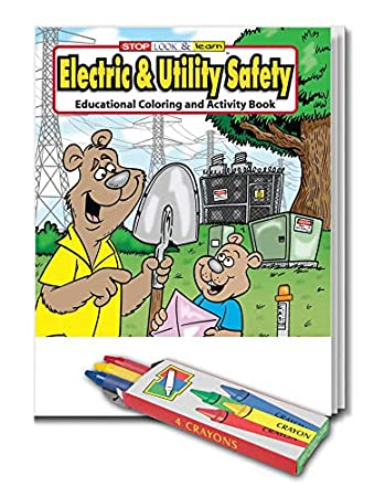 Amazon.com: 25 Pack - Electric & Utility Safety - Kids Educational ...