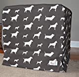 Happy Dog Happy Home Brown Indoor/Outdoor Crate Cover For Dogs (XL 42x28.5x30)