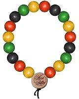 Wood Fellas Deluxe Pearl 9mm Bracelet multicolored