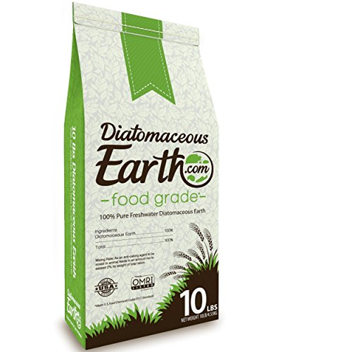 DiatomaceousEarth DE10 FGDE10 Food Grade diatomaceous Earth, 10 Lb (Best Way To Use Diatomaceous Earth For Bed Bugs)