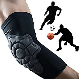 Dr, FIT Elbow Brace Sport [Zero Feel] Ultra Compression Slim Fit with Protective Pad Breathable Light Arm Support, Large
