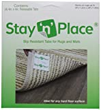 Stay 'n' Place Rug Gripper Slip-Resistant Tabs Combo Pack