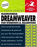 Macromedia Dreamweaver for Windows and Macintosh, J. Tarin Towers, 0201844451