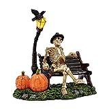 Department 56 Halloween Resting My Bones Figurine, 8 inch