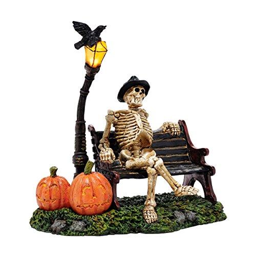 Department 56 Halloween Resting My Bones Figurine, 8 inch -