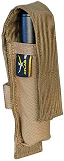 product image for Atlas 46 Suspender Attachment Mini Flashlight Pouch, Coyote | Hand Crafted in The USA