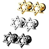 Best Jewish As - MOWOM Silver Gold Two Tone Black Stainless Steel Review