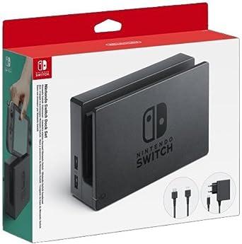 Nintendo - Dock Set con Base Switch, Adaptador De Corriente Y ...