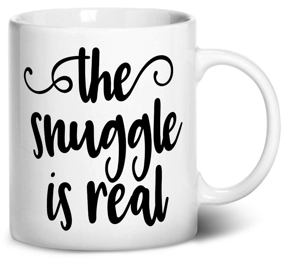 The Snuggle is Real mug