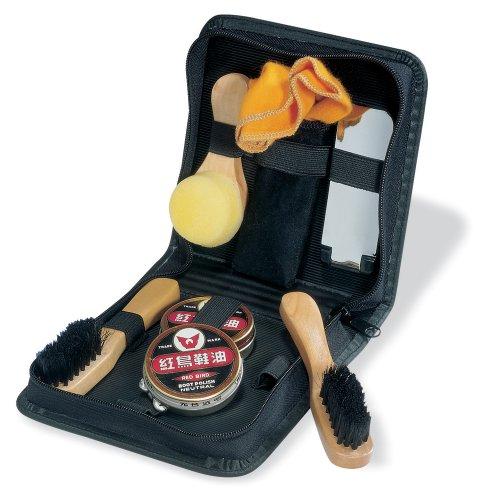 eBuyGB Shoe Shine Polish Kit in Travel Case - 8 Piece Brush Kit (Black and Neutral) by eBuyGB (Image #10)