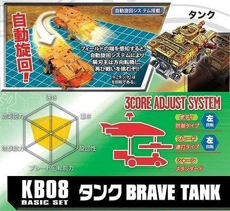 Amazon.com: TAKARA TOMY KB-08 Battle Blade - Juego básico de ...