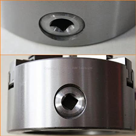 K11 Series 100mm Diameter 3 Jaw Self Centering Lathe Chuck 105211 UK SELLER