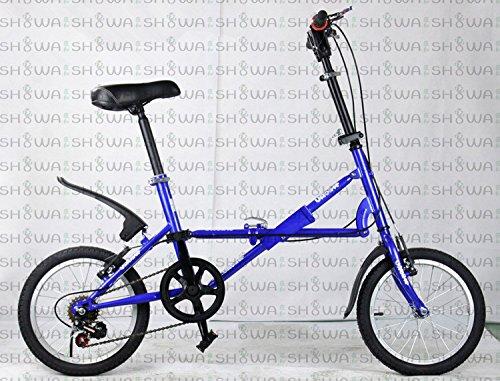 キッズ.ジュニアサイクル 折畳自転車 12インチ  サイクリング ピクニック 遠足 B00QA16VIS ブルー ブルー