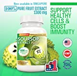 Cheap USA No.1 Supplement – Soursop Extract Plus Graviola 1300Mg 60 capsules / Immunity Booster