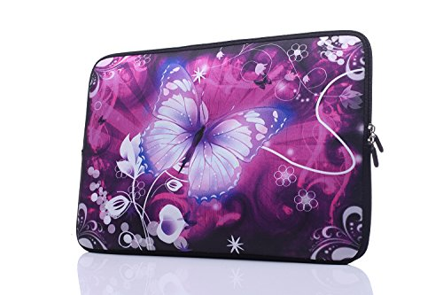 13 3 Inch Neoprene Ultrabook Chromebooks butterfly