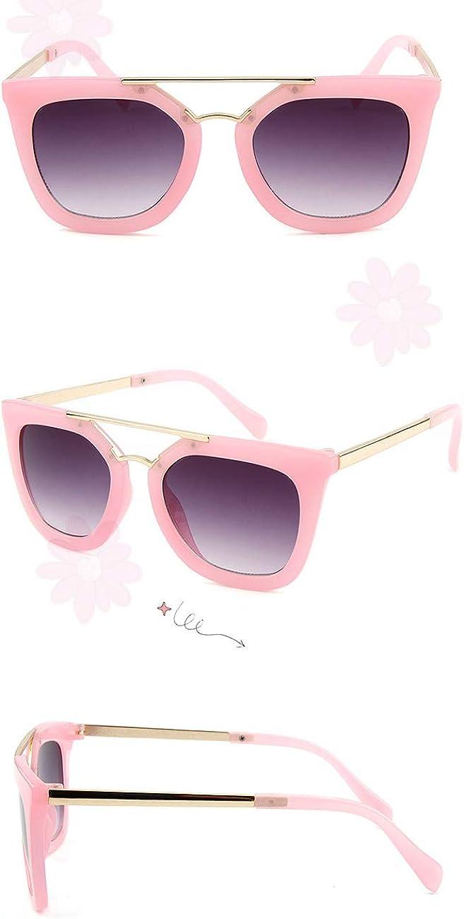 Protecci/ón UV400 Gafas de Viaje Cl/ásicas Sunglasses Disfraz Ideal Regalo Edad 6-12 besbomig Gafas de Sol para Ni/ños y Ni/ñas Flexible Marco