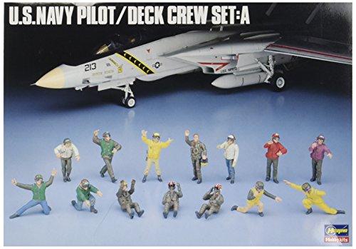 Hasegawa 1/48 US Navy Pilot/Deck Crew A ()