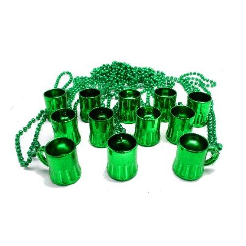 Green Beer Mug Beads package