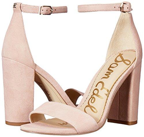 Suede Yaro Women's Pink Heeled Seashell Sandal Sam Edelman 0wvgSg