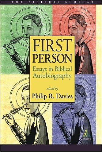 First Person: Essays in Biblical Autobiography (Biblical Seminar) (2002-04-19)