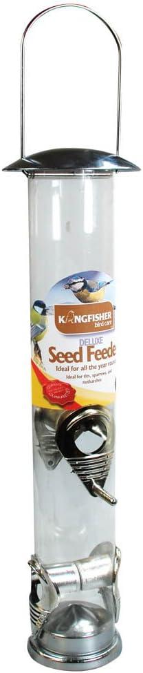 Bonnington Plastics Kingfisher BF021 - Comedero para pájaros (tamaño Grande)