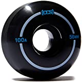 CCS Skateboard Wheels - Multiple Colors (Black, 56mm)